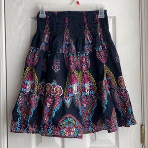 Dresses & Skirts - Multicolor Boho Skirt